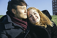 Portrait of young couple in love - ABZF000246