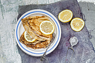 Crepes with lemon slices - SBDF002701