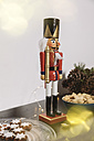 Nutcracker and Christmas decoration - MFF002791