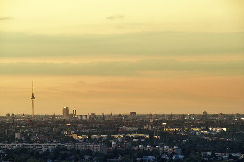 Germany, Berlin, view to the city center from Rudow - TAMF000385