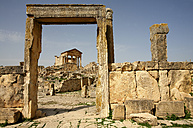 Tunisia, Beja Governorate, Roman ruin of Dougga - DSGF001062