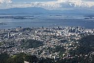 Brazil, Aerial view of Rio De Janeiro - MAUF000308