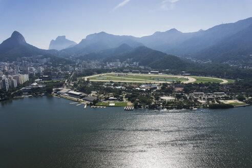 Brazil, Aerial view of Rio De Janeiro - MAUF000311