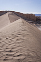 Chile, San Pedro de Atacama, sand dune in Atacama desert - MAUF000356