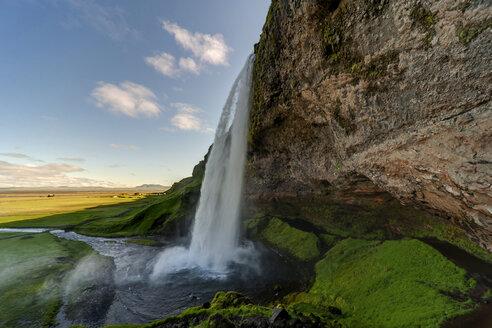 Iceland, Seljalandsfoss waterfalll - PAF001642