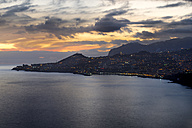 Portugal, Madeira, Funchal at sunset - MKFF000268