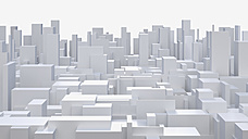 3D-Rendering, mega city, living space - UW000818