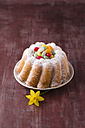 Mini Gugelhupf garnished with sugar Easter eggs - MYF001428
