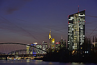 Germany, Frankfurt, Luminale in the city - FDF000151