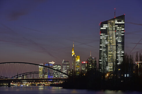 Germany, Frankfurt, Luminale in the city - FDF000151