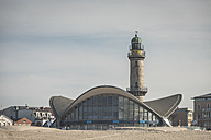Germany, Warnemuende, Lighthouse and Teepott - ASCF000555