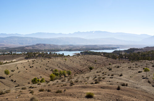 Morocco, Ait Bougoumez Valley and Bin-el Ouidane-Lake - LMF000563