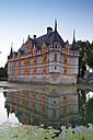 France, Azay-le-Rideau, view to  Chateau d'Azay-le-Rideau - DSG001148