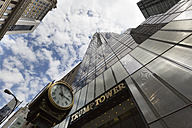 USA, New York City, Manhattan, Trump tower, view from below - FC000897