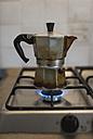 Espresso can on gas stove - MAUF000415
