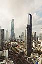 Thailand, Bangkok, Skyline with Maha Nakhon Tower - MBEF001423