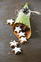 Paper bag of cinnamon stars - MYF001448