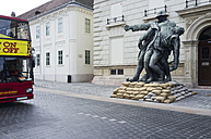 Hungary, Budapest, statue of fighters of the world war I - TK000439