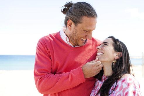 Spain, happy couple - VABF000442