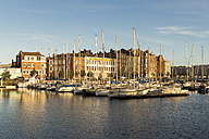 France, Dunkerque, Harbour in the evening - JUNF000508