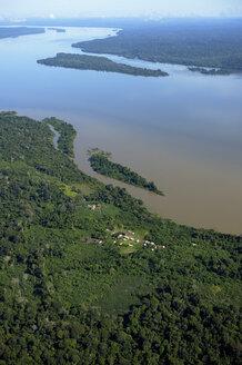 Brazil, Para, Itaituba, Sawle Muybu, Village of Mudndururu people, Rio Tapajos - FLKF000693