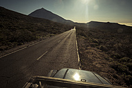 Spain, Tenerife, empty road in El Teide region - SIPF000372