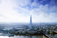 UK, London, cityscape with River Thames and The Shard - BRF001308