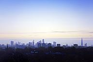 UK, London, skyline at a winter morning - BRF001326