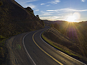USA, California, Orr Spring Road at sunset - STCF000193