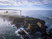 USA, California, Point Arena Lighthouse - STCF000199