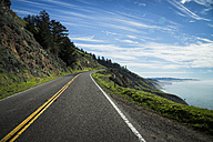 USA, California, Coast at Highway 1 - STCF000223