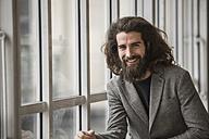 Portrait of a bearded businessman - ZOCF000095