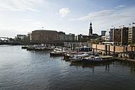 Germany, Hamburg, Speicherstadt - MYF001454
