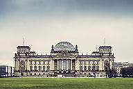 Germany, Berlin, Reichstag, bad weather - PUF000503
