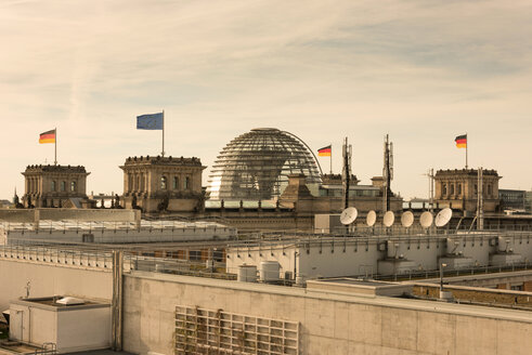 Germany, Berlin, Cupola of Reichstag - SKAF000010