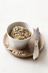 Homemade seed butter with sunflower seeds - EVGF002937