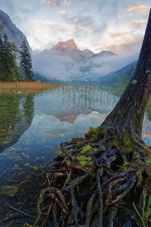 Austria, Styria, Eisenerz, Hochschwab, Pfaffenstein mountain, Leopoldsteiner lake - GFF000585