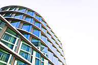 Germany, Stuttgart, part of modern office building at European Quarter - WDF003602