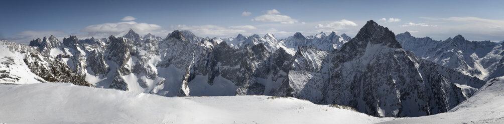 France, Isere, Les Deux Alpes, view from La Grave - ALRF000447