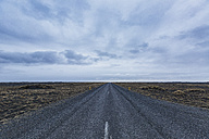 Iceland, street and clouds - ASCF000582