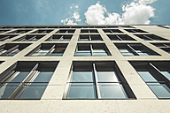 Germany, Berlin, facade of modern office building - CMF000447