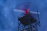 Radar station, weather radar at night - FRF000436