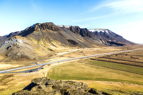 Iceland, Mountains and a road - JLRF000016
