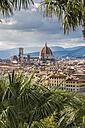 Italy, Tuscany, Florence, Old town, Santa Maria del Fiore and Badia Fiorentina - CSTF001083