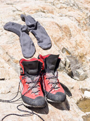 Hiking boots and socks - LAF001651