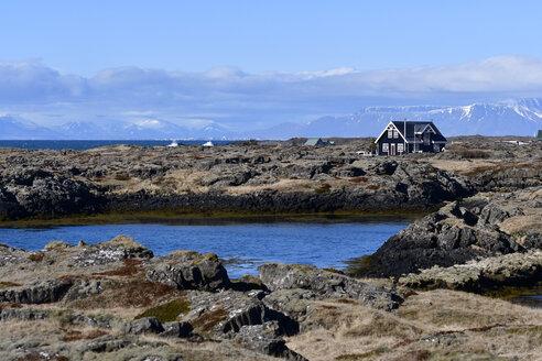 Iceland, House at coast - FDF000164