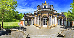 Germany, Bavaria, Bayreuth, Hermitage with sun temple - VT000526