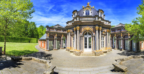 Germany, Bavaria, Bayreuth, Hermitage with sun temple - VT000526