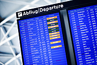 Airport, Display, Departures - JUBF000161