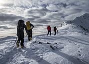 Scotland, Glencoe, Stob Coire Nan Lochain, mountaineering - ALRF000473